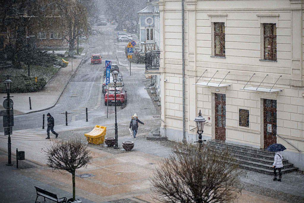 Warszawska Sciegiennego Ciechanow ciechanowiak Przemek Kuzniewski zima