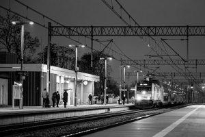Dworzec kolejowy PKP Ciechanow fotograf z Ciechanowa Przemyslaw Kuzniewski