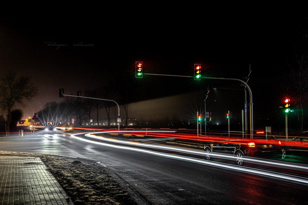 Skrzyżowanie Aleja Unii Europejskiej DK60 Fotograf Ciechanów Przemyslaw Kuźniewski ciechanowiak