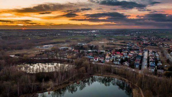 Krubin z gory fotograf Ciechanow z Ciechanowa ciechanowiak Przemyslaw Kuzniewski