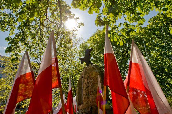 Pomnik Polskiej Organizacji Wojskowej fotograf Ciechanów Przemyslaw Kuzniewski