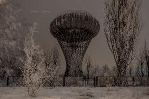 Wieza cisnien zima 2017 fotograf Ciechanow z Ciechanowa ciechanowiak Przemyslaw Kuzniewski