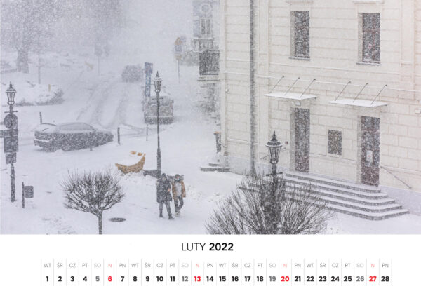 02 luty kalendarz 2022 Ciechanow ciechanowiak Przemyslaw Kuzniewski