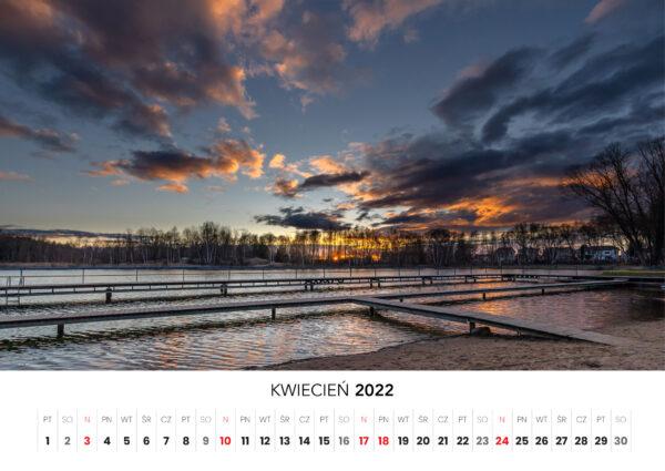 04 kwiecien kalendarz 2022 Ciechanow ciechanowiak Przemyslaw Kuzniewski
