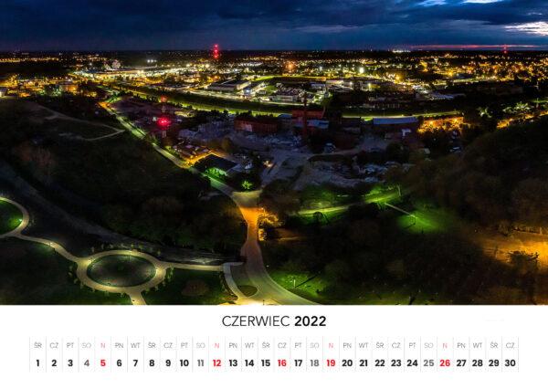 06 czerwiec kalendarz 2022 Ciechanow ciechanowiak Przemyslaw Kuzniewski
