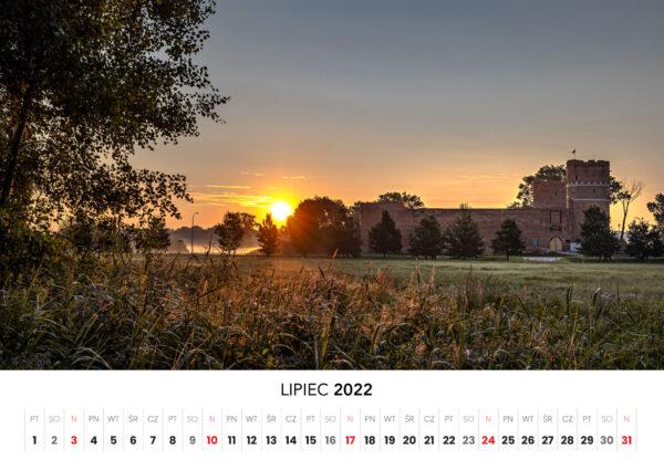 07 lipiec kalendarz 2022 Ciechanow ciechanowiak Przemyslaw Kuzniewski