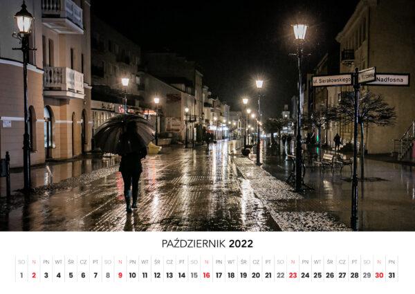 10 pazdziernik kalendarz 2022 Ciechanow ciechanowiak Przemyslaw Kuzniewski