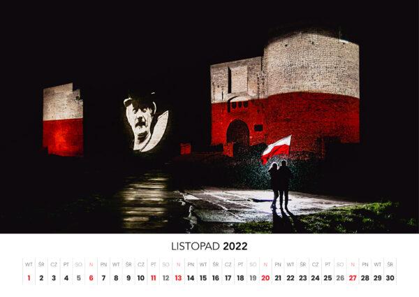 11 listopad kalendarz 2022 Ciechanow ciechanowiak Przemyslaw Kuzniewski