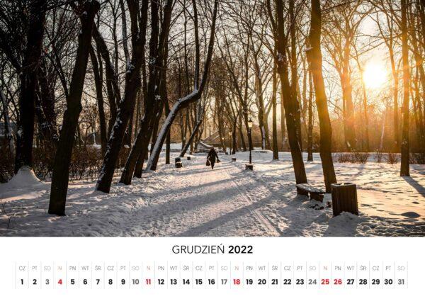 12 grudzien kalendarz 2022 Ciechanow ciechanowiak Przemyslaw Kuzniewski